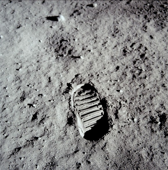 worlds most famous footprint
