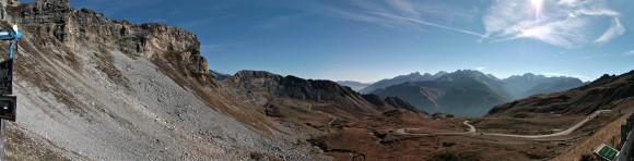 Am Großglockner-Hochtor: Blick nach Süden