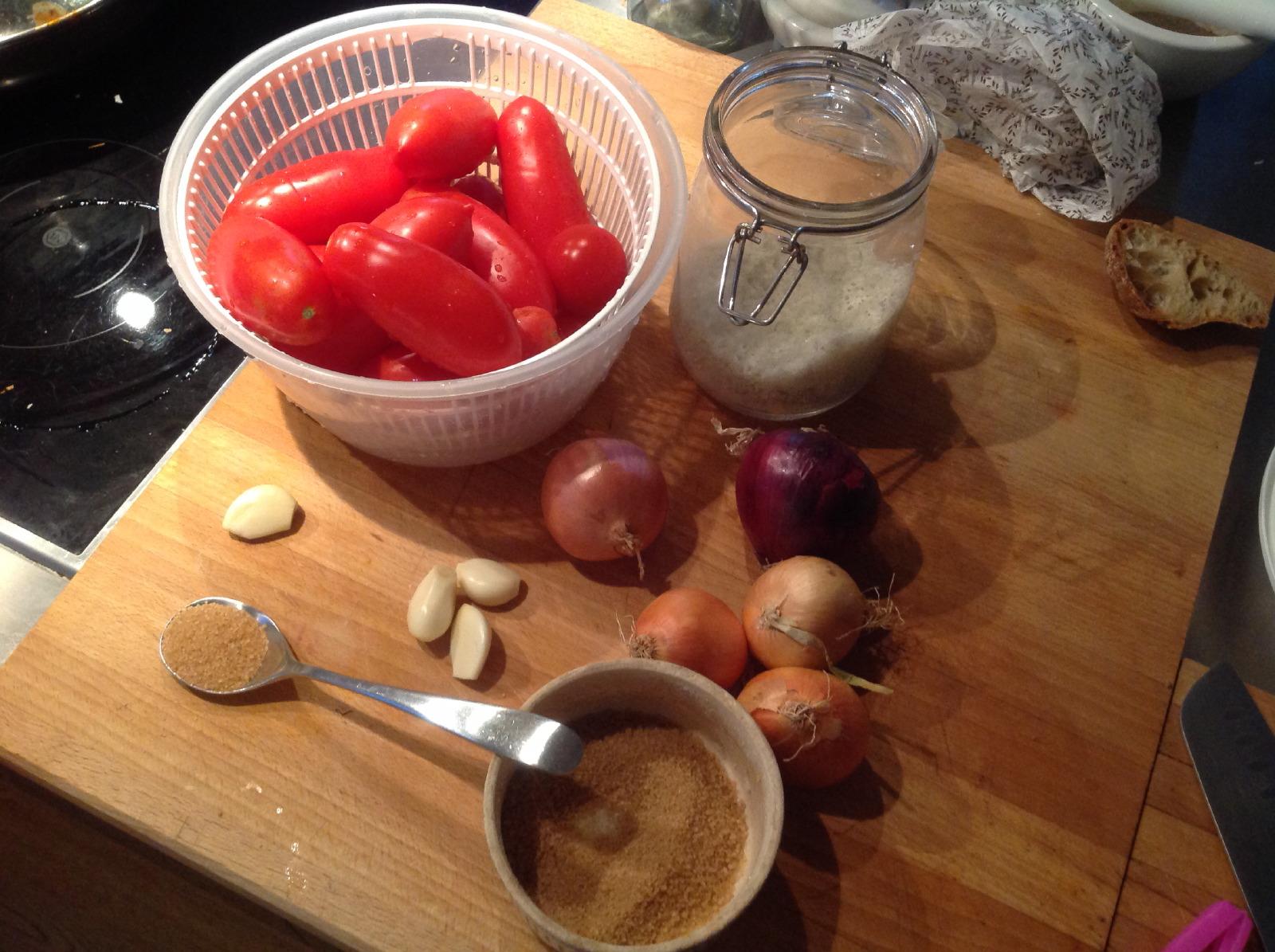 Die Tomatensauce